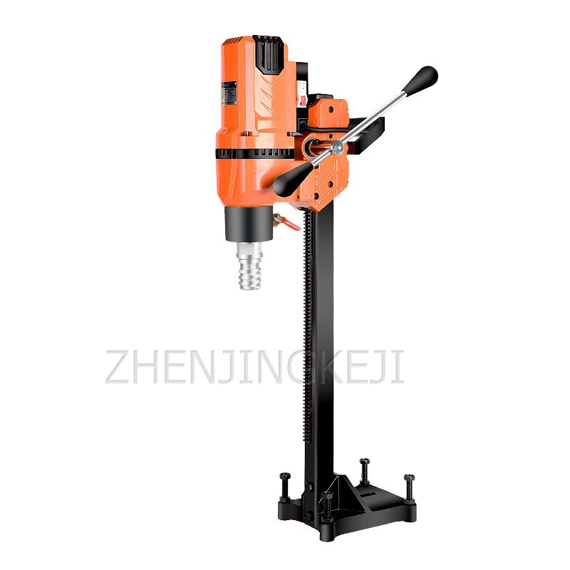 220V Drilling Machine High-Power Industrial Air-Conditioning Diamond Water Drilling Apparatus Engineering Dual-Purpose Perforate