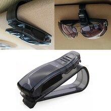 Hot Sale Car Accessories Sun Visor Sunglass Eyeglasses Glasses Card Pen ABS Portable Clip Ticket Hol