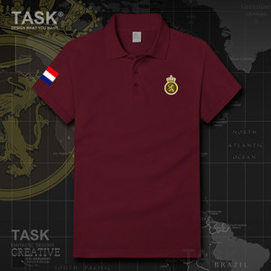 Army Netherlands Low Countries Holland Dutch NLD Summer Breathable Slim Cotton Male Short Sleeve Brand Polo Shirt Men tops