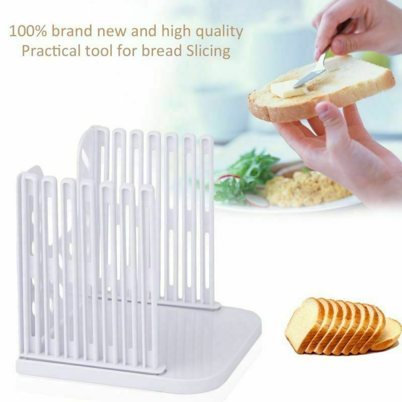 Cortadora de pan de molde de corte guía de corte hogaza tostada herramienta de cocina