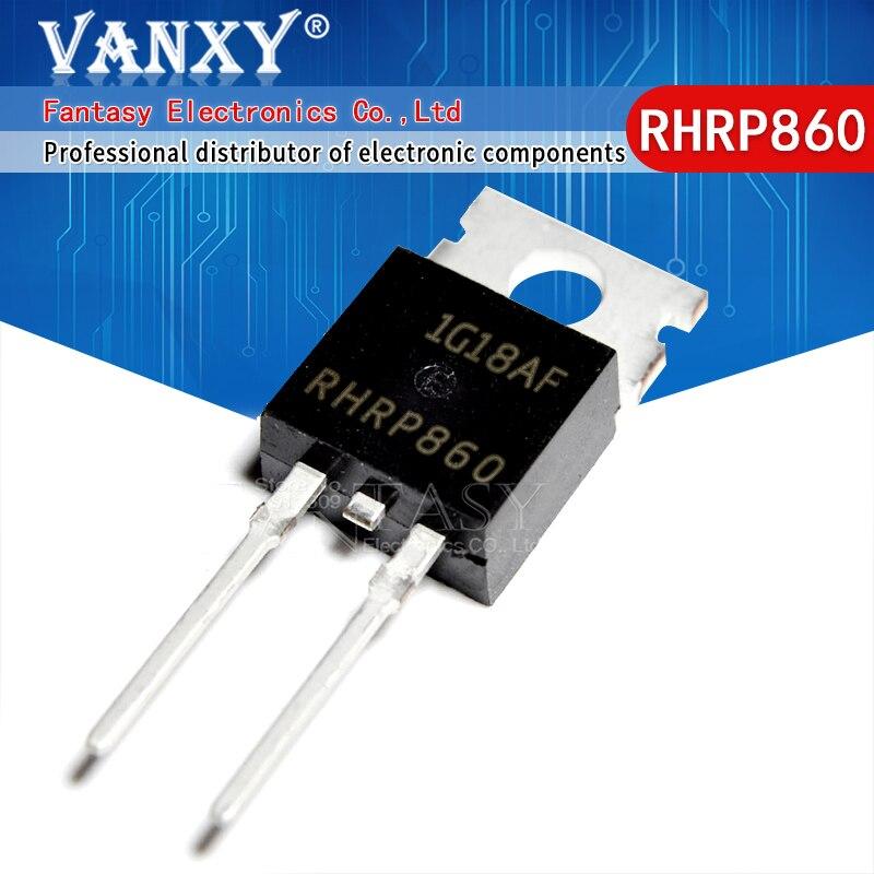 10 Uds RHRP860-220 8A 600V TO220-2
