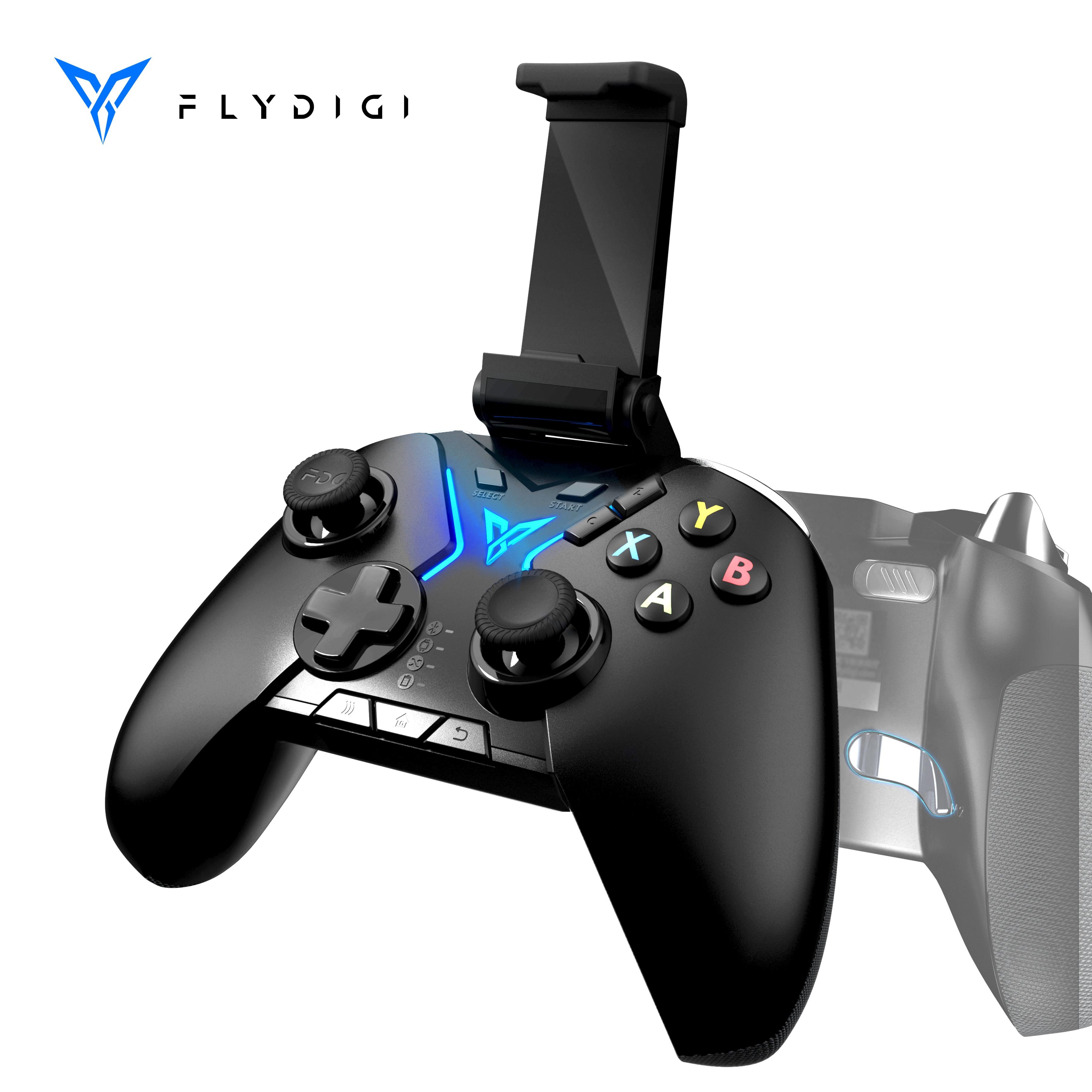 Flydigi-controlador Apex Esports Bluetooth pubg para videojuegos, inalámbrico, con soporte para teléfono, mando para PC, almohadilla para teléfono móvil