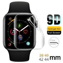 Para Apple Watch Series 4 3 2, funda, bandas, funda, 44 40 42mm 38mm, Protector de pantalla de 40mm 44mm para i Watch 4 3 2 1