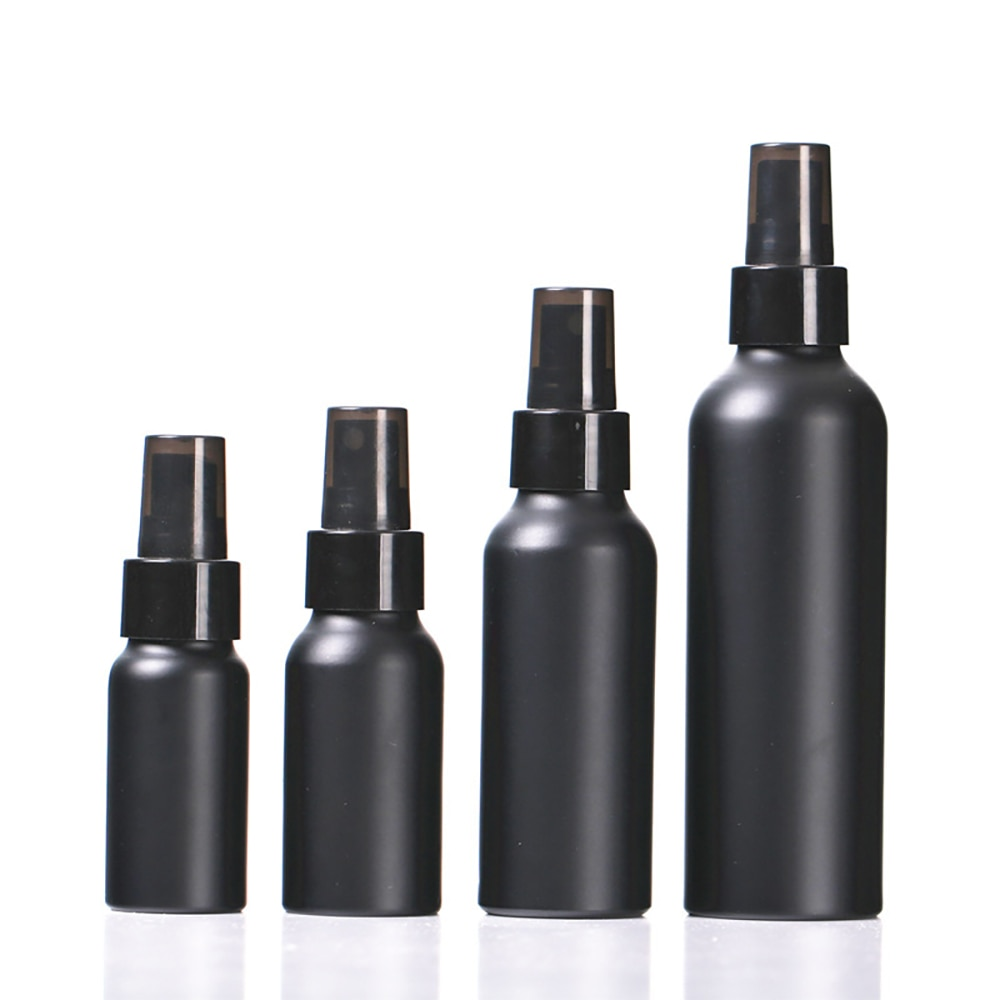 30ml 50ml 100ml 150ml Portable Travel Black Aluminum Bottle Empty Bottle Perfume Spray Bottle Cosmetic Packaging Container 30ml 50ml 100ml 150ml portable travel black aluminum empty bottle perfume spray bottle cosmetic packaging container