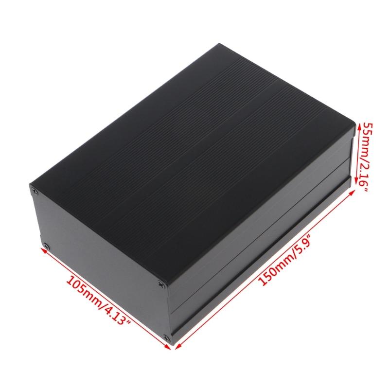 P15D 150x105x55 مللي متر لتقوم بها بنفسك الألومنيوم العلبة الإلكترونية مشروع PCB صندوق الأدوات