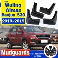 for wuling almaz baojun 530 chevrolet captiva mg hector 2018 2019 car mudflap fender mud guard splash flap mudguards accessories