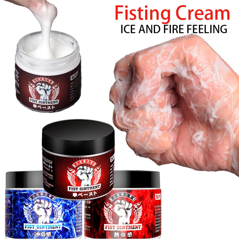 2021 New Fisting Cream Ice Fire Anal Sex lubricant Butt Expansion Gel Lubrication Anti-pain Penis De