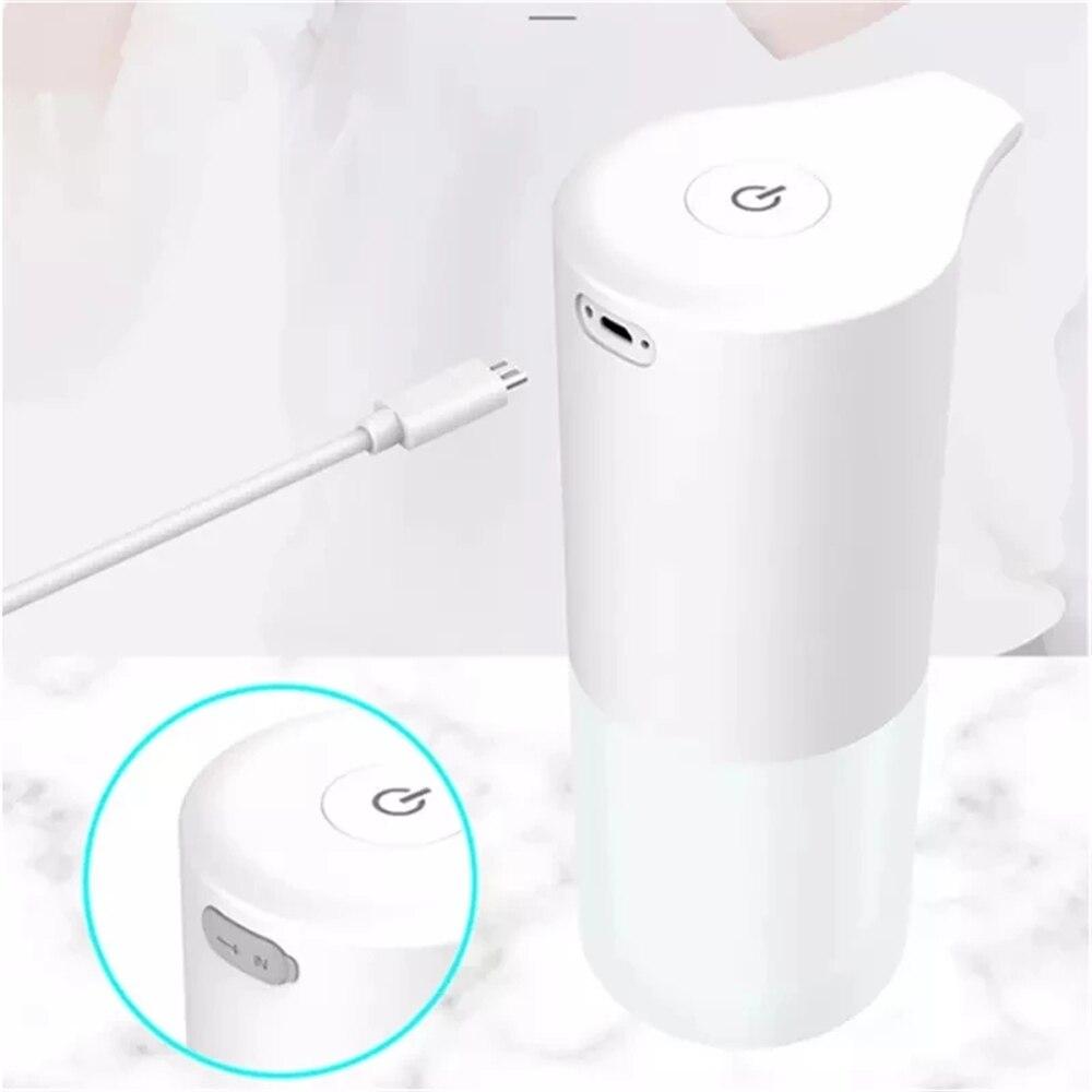 USB Charging Automatic Soap Dispenser Smart Sensor Liquid Soap Dispensers Auto Foam Dispenser Touchless Hand Sanitizer Dispenser