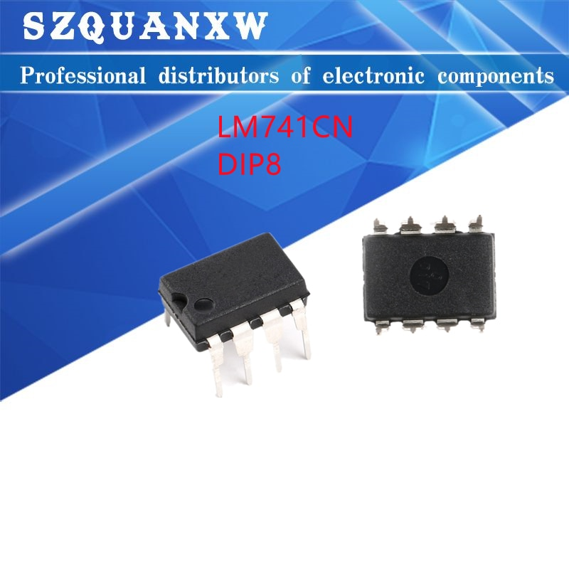 10pcs tlp251 dip8 10PCS LM741CN DIP8 LM741 DIP DIP-8 741CN DIP-8 Operational Amplifier LM741C