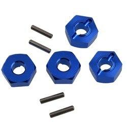 Rc K949-009 alume roda hex montagem com pinos (2*10) para wltoys 110 escalada k949