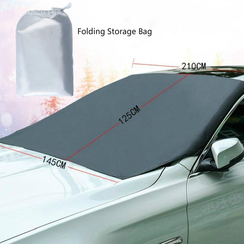 Автомобильная магнитная Защитная крышка 210*120 см для автомобиля, водонепроницаемая Защитная крышка для автомобиля