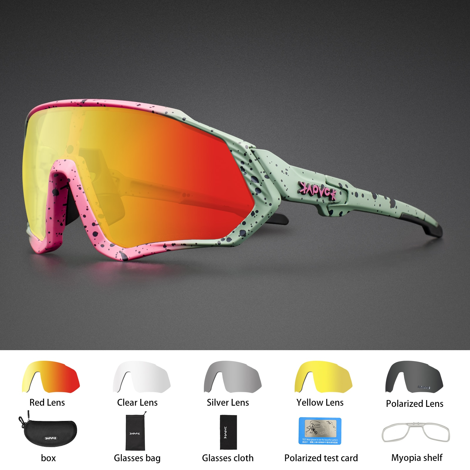 Kapvoe Bike Sunglasses Motorcycle Fishing Glasses Cycling MTB Road Eyewear Polarized Bicycle Glasses For Men Women Sport Goggles 2021 all the new cycling sunglasses men women uv400 sport mountain road bike glasses mtb running fishing goggles bicycle eyewear