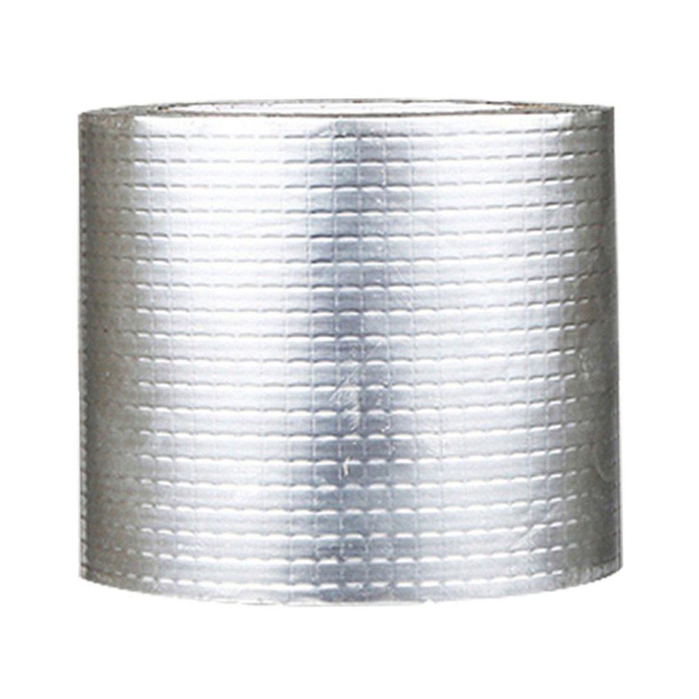 شريط الألمنيوم والمطاط البيوتيلي ذاتي اللصق المقاوم للحرارة العالية, مقاوم للماء، يستخدم لإصلاح الأنابيب وإيقاف التسرب
