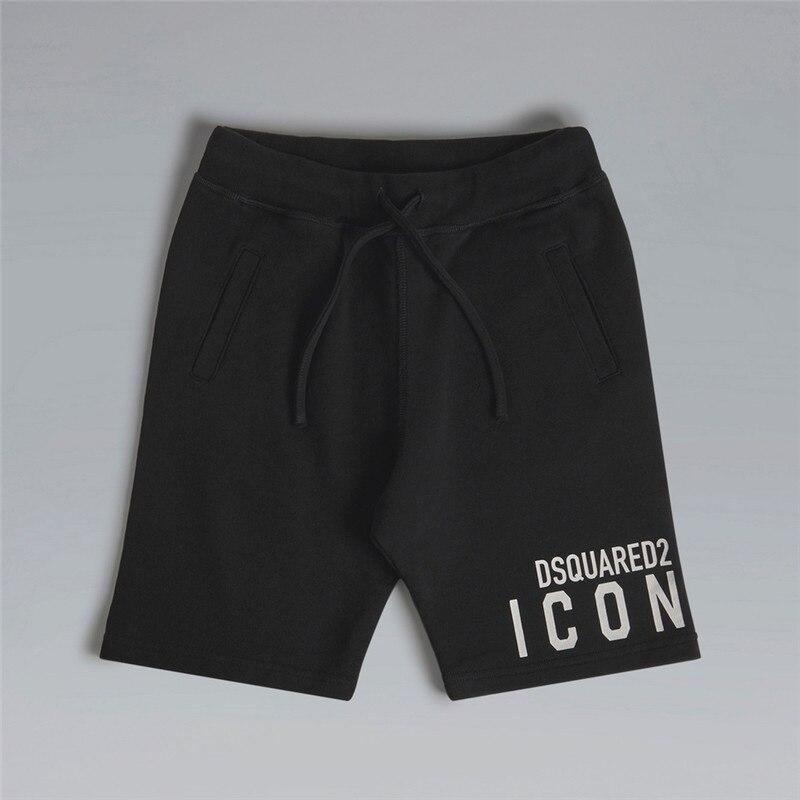 New summer casual men's shorts fashion running sports casual fitness shorts elastic waist straight leg shorts men
