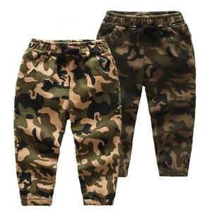 CNUM 2-7 Yrs Boys Long Pants Camouflage Kids Pants Boy Trousers boy pants kids pants
