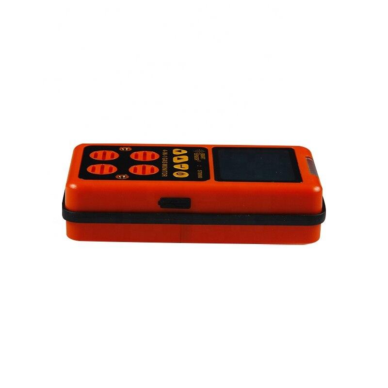 4 in 1 EU Digital Gas Detector O2 H2S CO LEL Handheld Mini Gas Analyzer Air Monitor Gas Leak Tester Carbon Monoxide Meter ST8900 enlarge