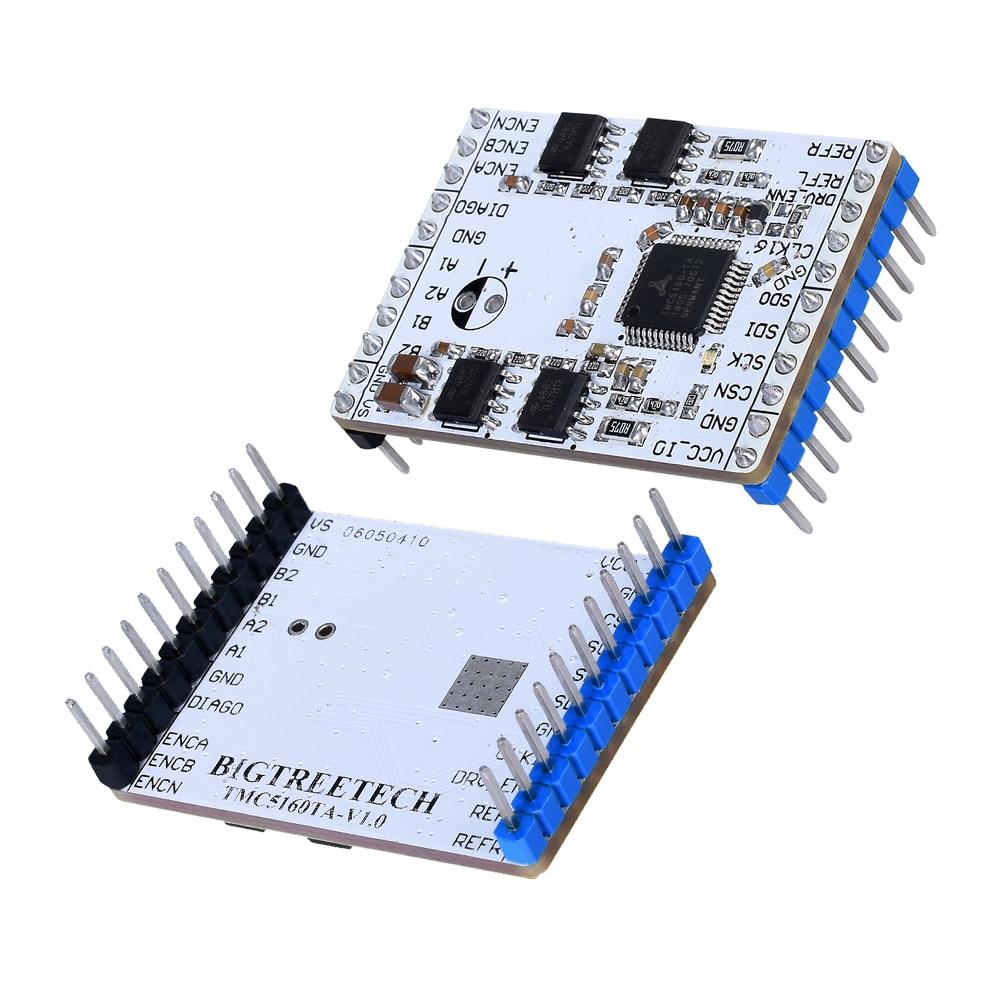 BIQU BIGTREETECH TMC5160TA-V1.0 controlador de Motor paso a paso Ultra silencioso TMC5160-BOB alta potencia para la placa de impresora 3D RepRap MKS
