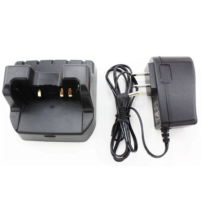 CD-41 Desktop Charger for Yaesu Verterx Radio VX-8R VX-8E VX-8DR VX-8DE VX-8GR VX-8GE FT-1DR FT-2DR FNB-101Li FNB-102Li SBR-14Li
