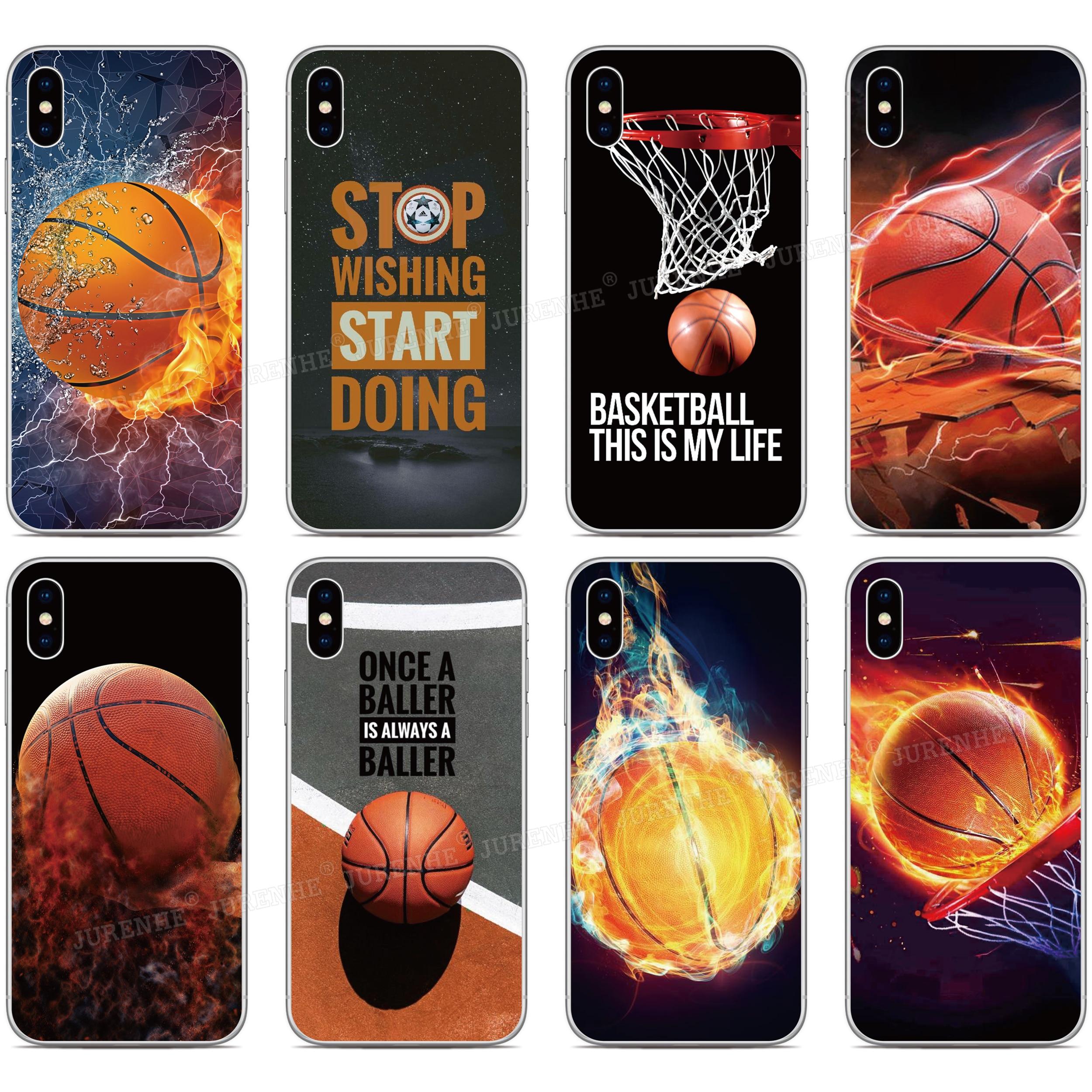 Baloncesto cubierta para Samsung Galaxy Nota 20 Pro S20 Ultra S11E S11 más A01 A11 A21S A31 M31 M11 A90 A41 A51 A71 A70 A50 caso