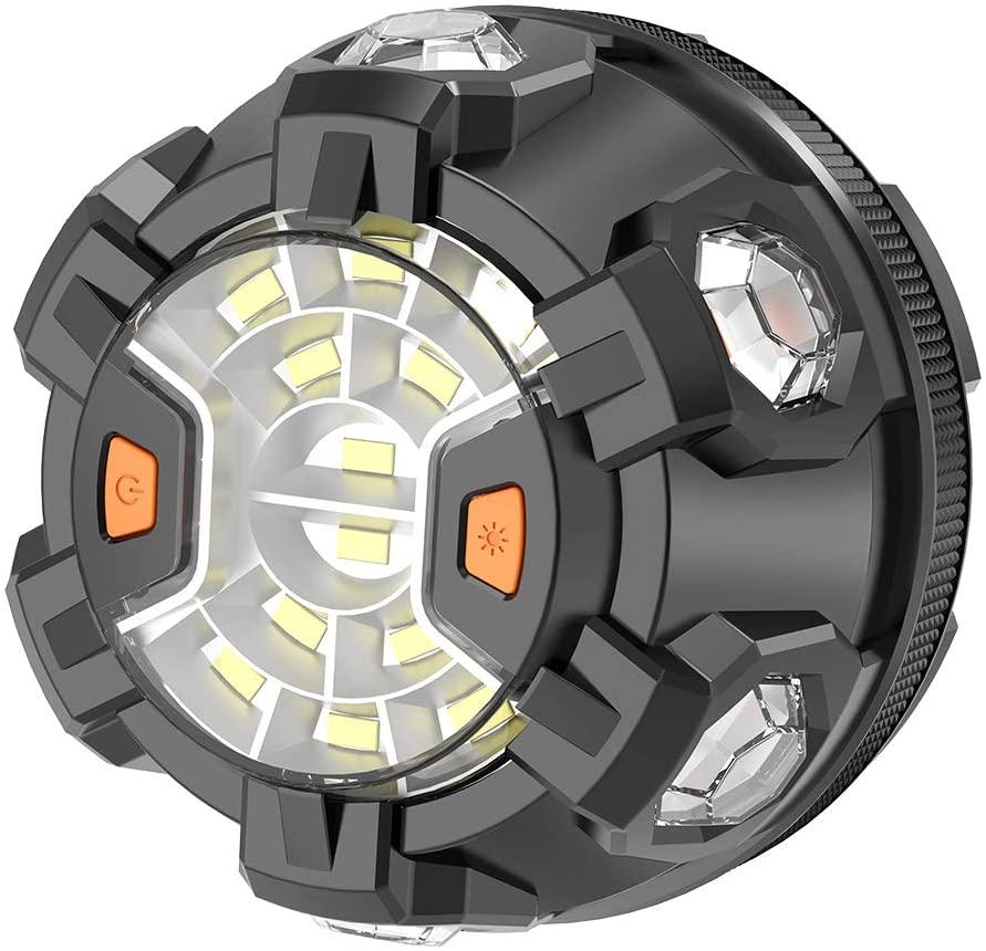 سيارة منارة الطوارئ SOS ضوء LED على جانب الطريق السلامة وامض مصباح تحذير فانوس مع قاعدة مغناطيسية وخطاف انهيار عدة السيارات