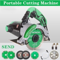 Cutting MachineTile Cutting Machine Wood and Stone Slotting Household Handheld Dolomite Machine