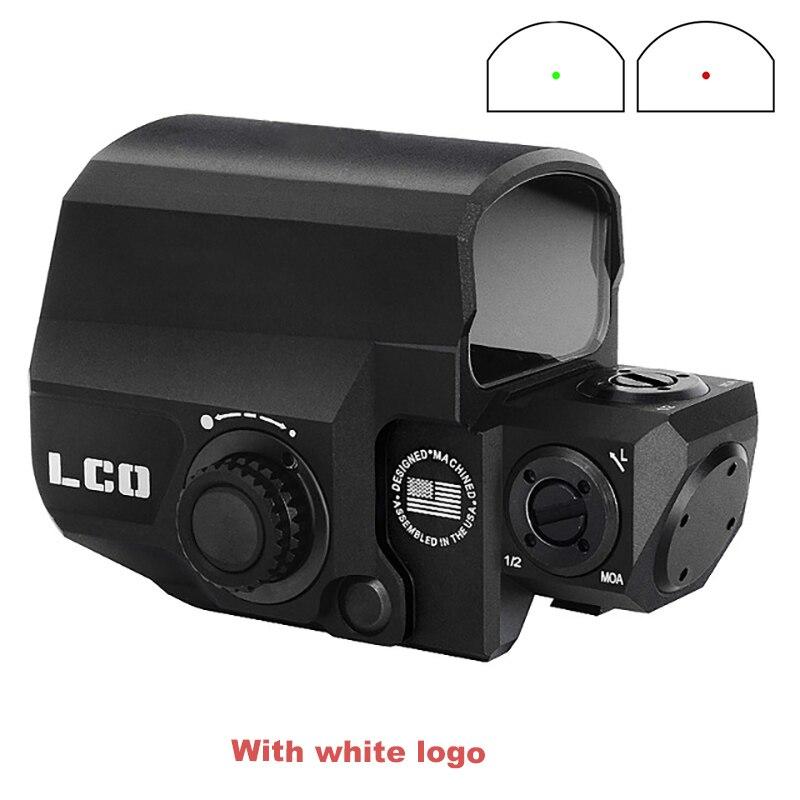 Mira telescópica BESTSIGHT LCO Tactical Red Dot con miras de caza Reflex Sight con 20mm