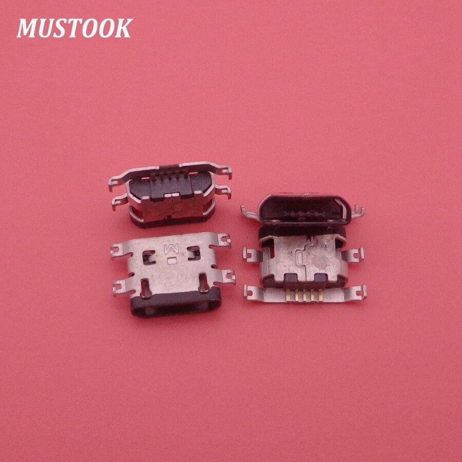 50 Uds puerto de carga Cargador Micro USB conector de puerto USB para Motorola Droid Turbo 2 XT1585 XT1580