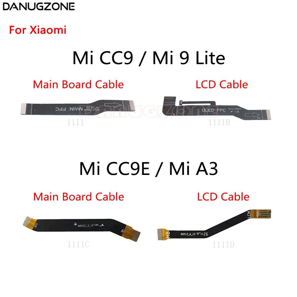 LCD Display Main Board Connect Cable Motherboard Flex Cable For Xiaomi Mi CC9 CC9E Pro A3 9 Lite