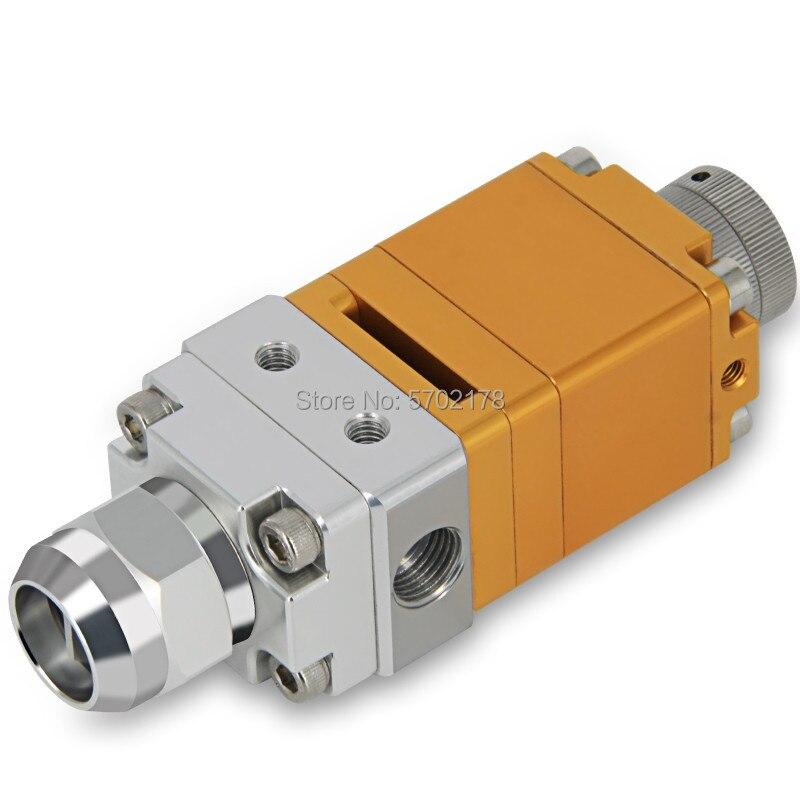 Válvula de dispensación de líquido doble de flujo grande BY-35AB Válvula de máquina de dispensación de mezcla AB válvula de succión trasera de doble acción
