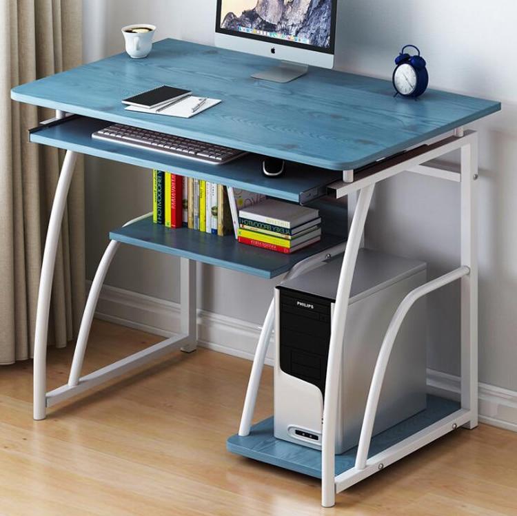 Mesa sencilla de PC para ordenador portátil, escritorio de estudio para casa...