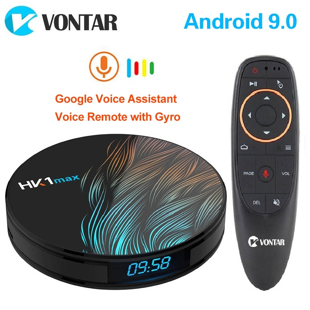 Смарт ТВ-бокс 2020 Android 9 9,0 HK1 Max 4 Гб 128 Гб 64 Гб 32 Гб Rockchip 4K Youtube Wifi Netflix Android TV телеприставка 2GB16GB