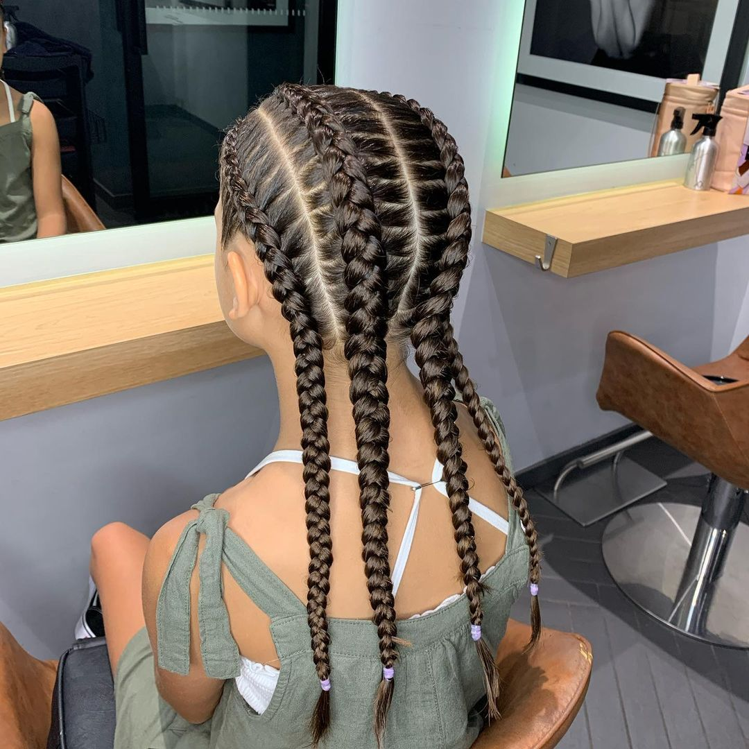Wig Braids African Synthetic Lace Wigs For Black Women Handmade Blonde Wig With Baby Hair 24Inches Braided Wig Box Braid Wigs enlarge