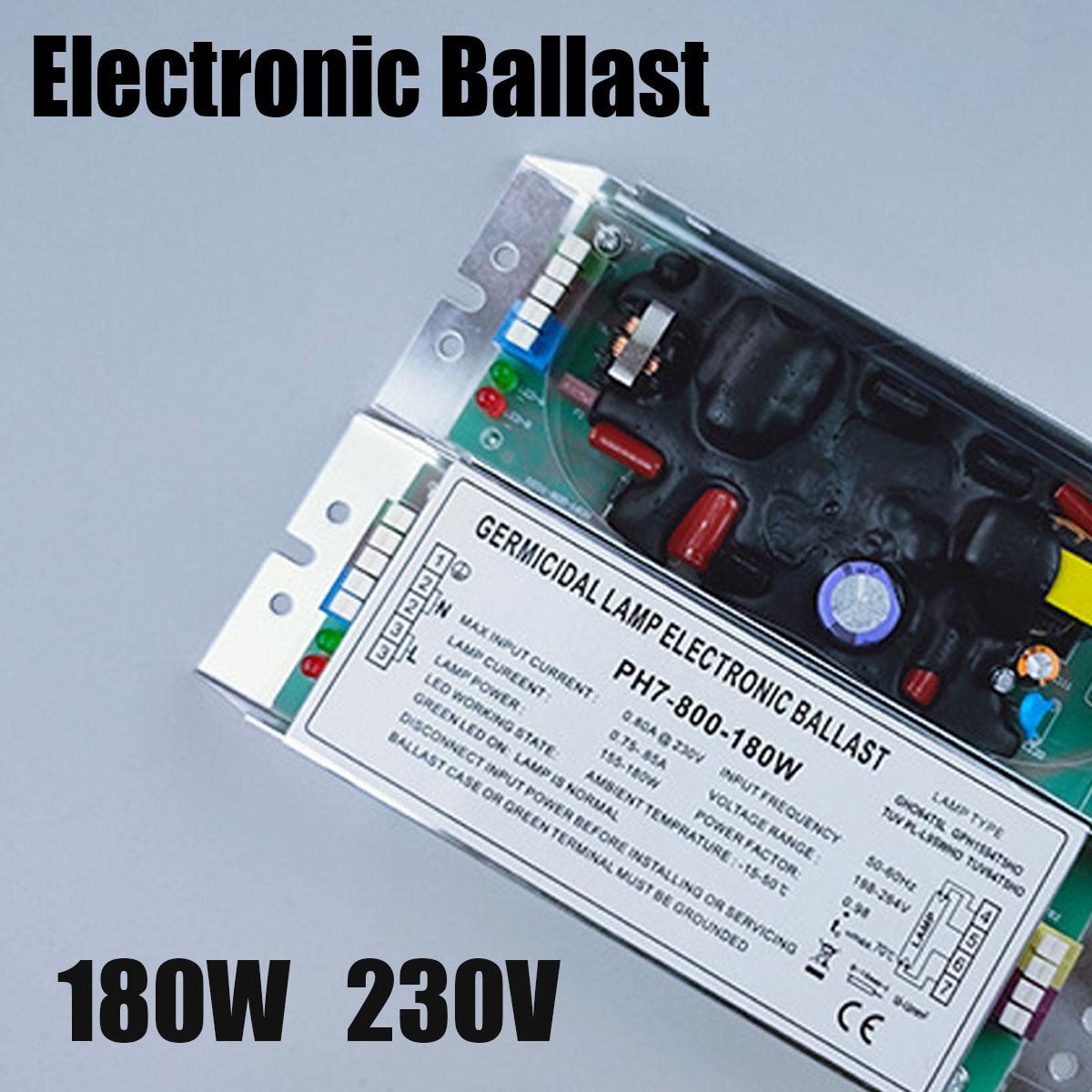 21-180 واط العالمي كابح تيار إلكتروني AC220V-250V معالجة النفايات الغاز الأشعة فوق البنفسجية أنبوب الصابورة UV لوحة حرق مصباح المعدل