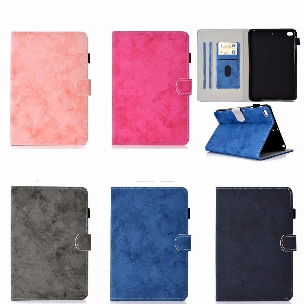 Funda inteligente de moda para Apple iPad mini 5 funda con soporte de cuero PU para Apple iPad Mini 1 2 3 4 caso para iPad Mini5 cubierta