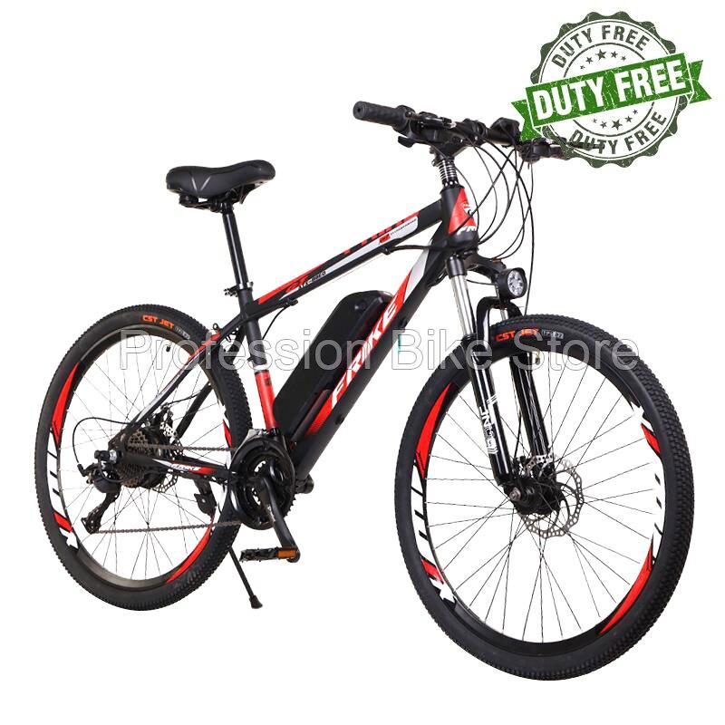 FRIKE 88EO 250 واط 36 فولت 10AH الكبار دراجة كهربائية 27 سرعة 26 بوصة إطار فولاذي من الكربون الطريق E-الدراجة الجبلية التنقل الترابية دراجة