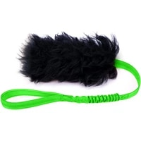 dog tug toy with rubber ball bungee interactive pet dog rope toy sheepskin for pitbull small to large dogs exercise outdoor