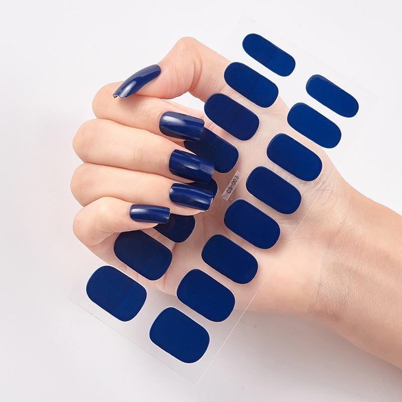 Полностью красивые наклейки для ногтей, наклейки для ногтей, наклейки-лак s, наклейки для ногтей s 2020, однотонные наклейки, простые наклейки д...