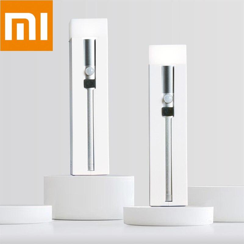 Xiaomi NexTool متعددة وظيفة الاستقراء مصباح يدوي الطوارئ ضوء مخيم جدار الجدول مصباح استشعار الإضاءة الطوارئ قوة البنك