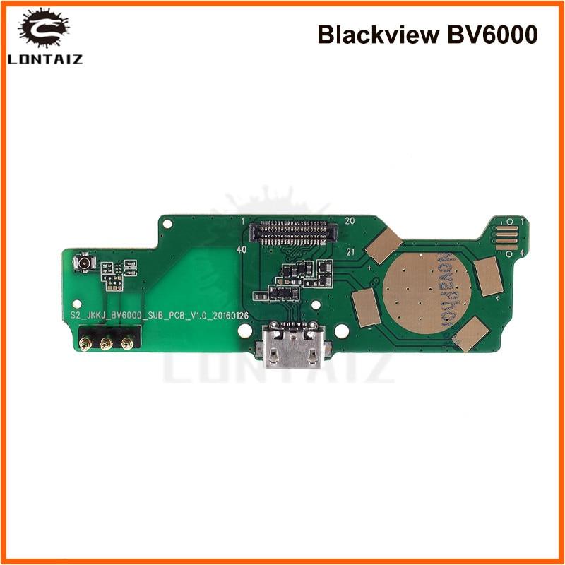 For Blackview BV6000 Usb Board Charger Port Dock Charging Micro USB Slot Original Parts For Blackview BV6000s Smart Mobile
