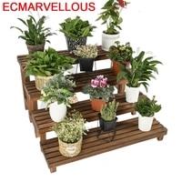 Plantas Indoor Rak Bunga Table Plantenstandaard Terraza Etagere Pour Plante Balcony Flower Shelf Rack Dekoration Plant Stand