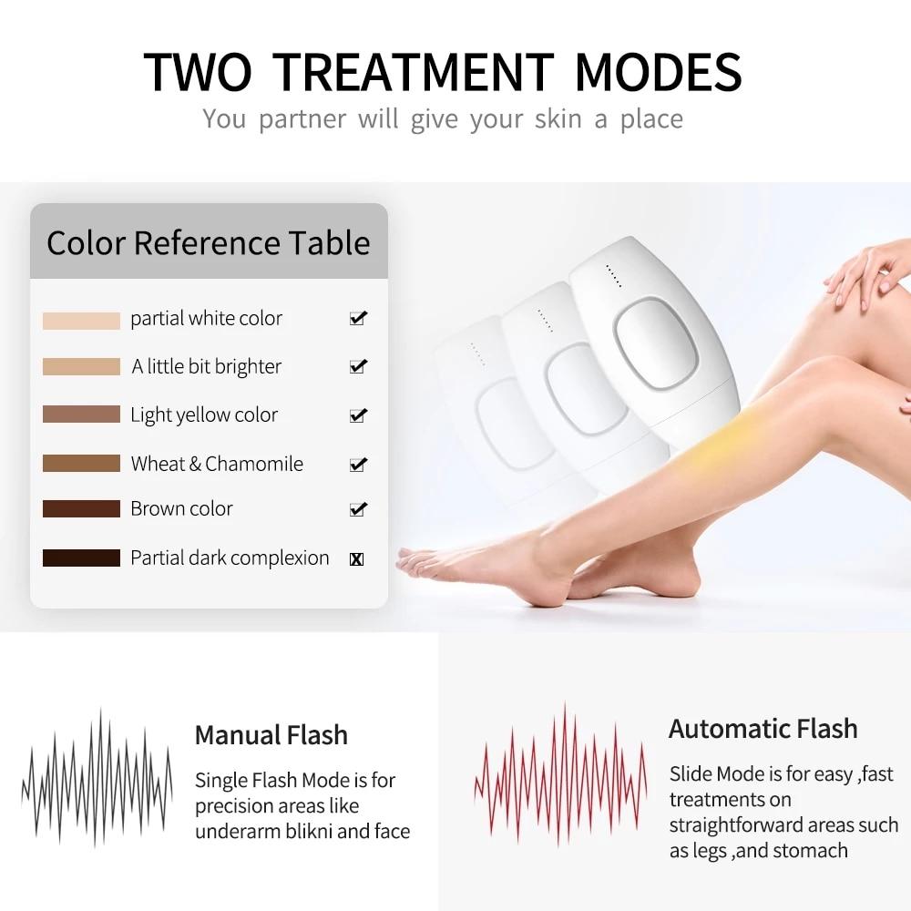 600000 flash professional permanent IPL epilator laser hair removal electric photo women painless threading hair remover machine enlarge