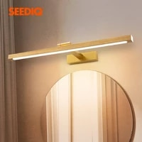 led wall lamp for bathroom brushed aluminum mirror wall lighting vanity lamps modern led wall light fixture indoor wall lamps