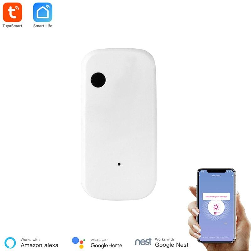 Tuya Smart WiFi Light Sensor Intelligent Light Sensor Linkage Control with Tuya Smart Device Smart Life Illumination Automation