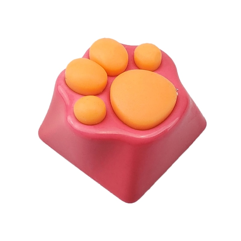Lovely Cat Paws Pad Mechanical Keyboard KeyCaps for cherry MX Switches 45BA