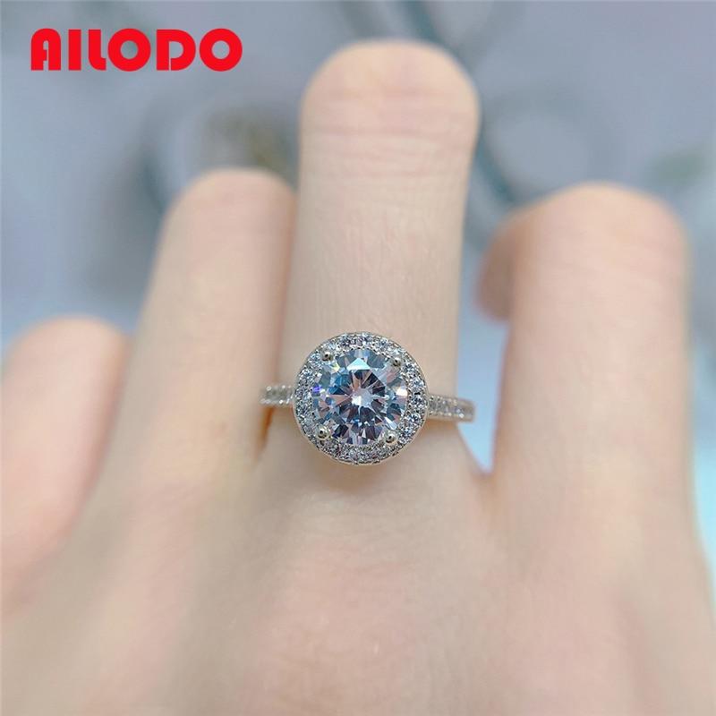 Обручальные кольца Ailodo для женщин, простой стиль, кубический цирконий, цвет розовые, золотые, серебряные, кольца для вечеринок, модные ювели...