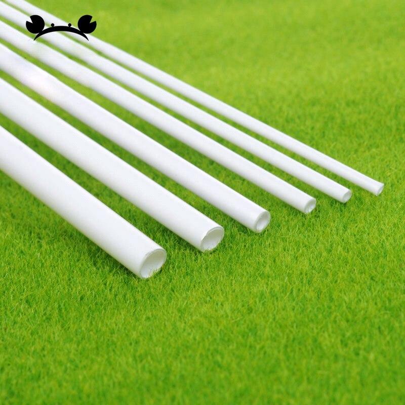 100pcs Dia 2-6mm plástico ABS Tubo redondo tubo modelo de tubo que faz o material cenário arquitetônico construções