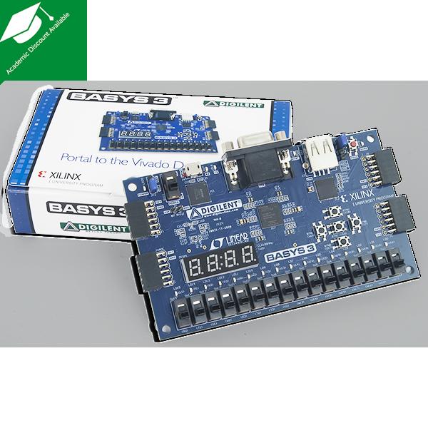Basys3 Artix-7 Xilinx FPGA RISC-V доски анти-разбивая обувь XUP Digilent