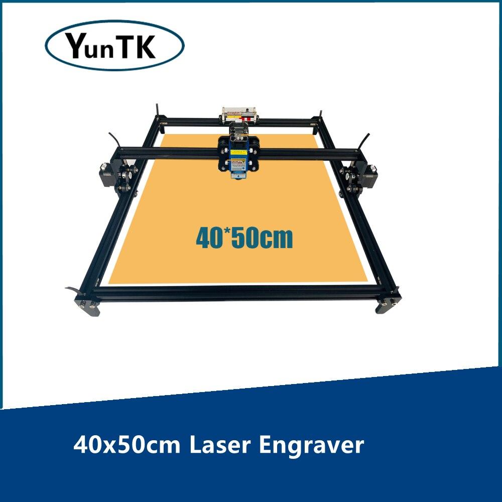 40x50 см аппарат для лазерной порезки, гравировальный станок для гравировки, 2 Axis CNC быстроходный деревообрабатывающий фрезерный станок,