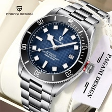 PAGANI DESIGN Luxury Watch Commercial Sports Automatic Mechanical Watch 100M Waterproof Relógio Mas