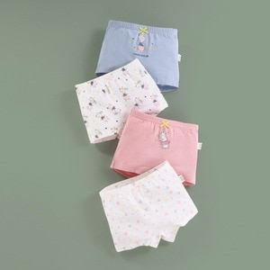 4Pcs/Lot Kids Girls Panties Girls Shorts Briefs Children Underwear Baby Girl Cotton Lovely Panties Children Clothes underpants